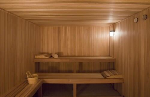 Dry sauna at the Hyatt Regency Lost Pines Resort & Spa