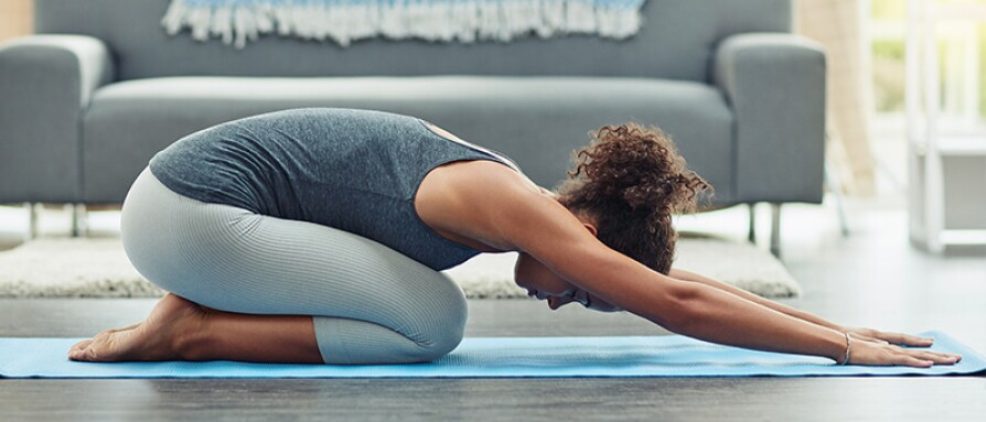 Restorative Yoga The Basics 5 Poses