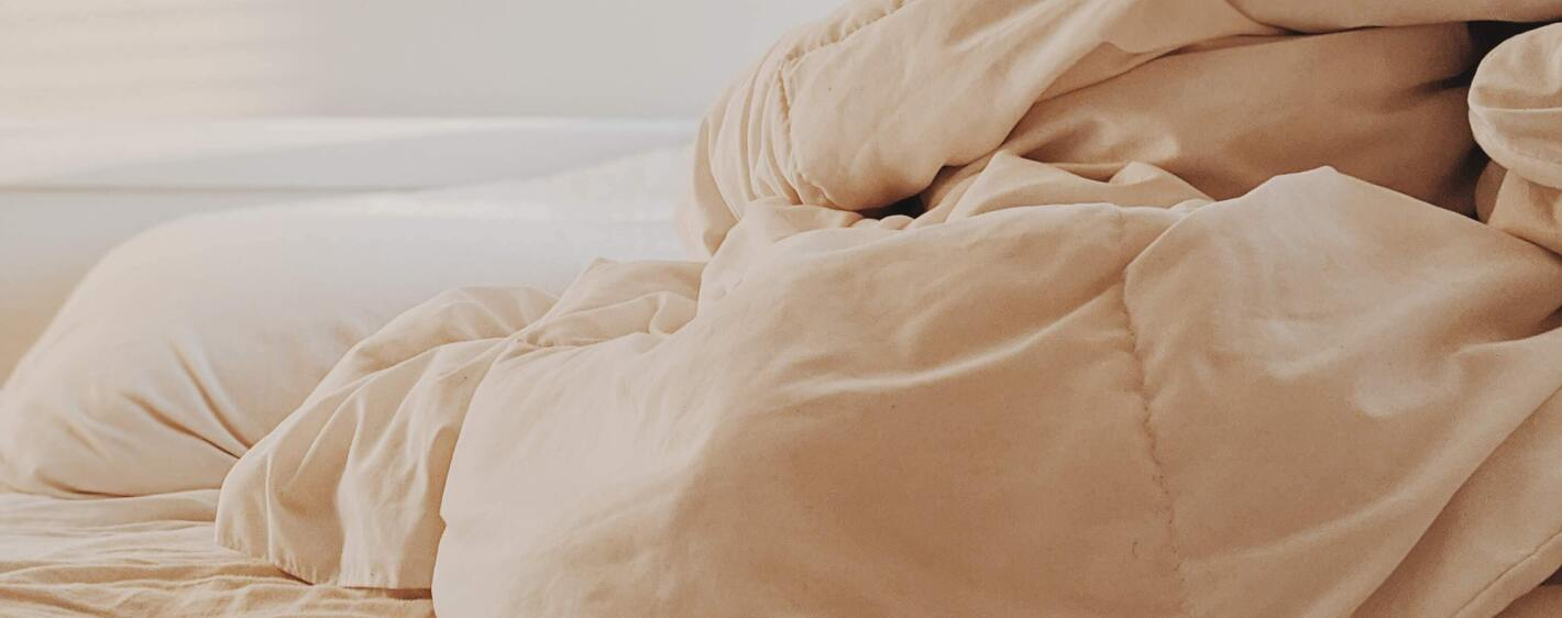Image of blanket on bed
