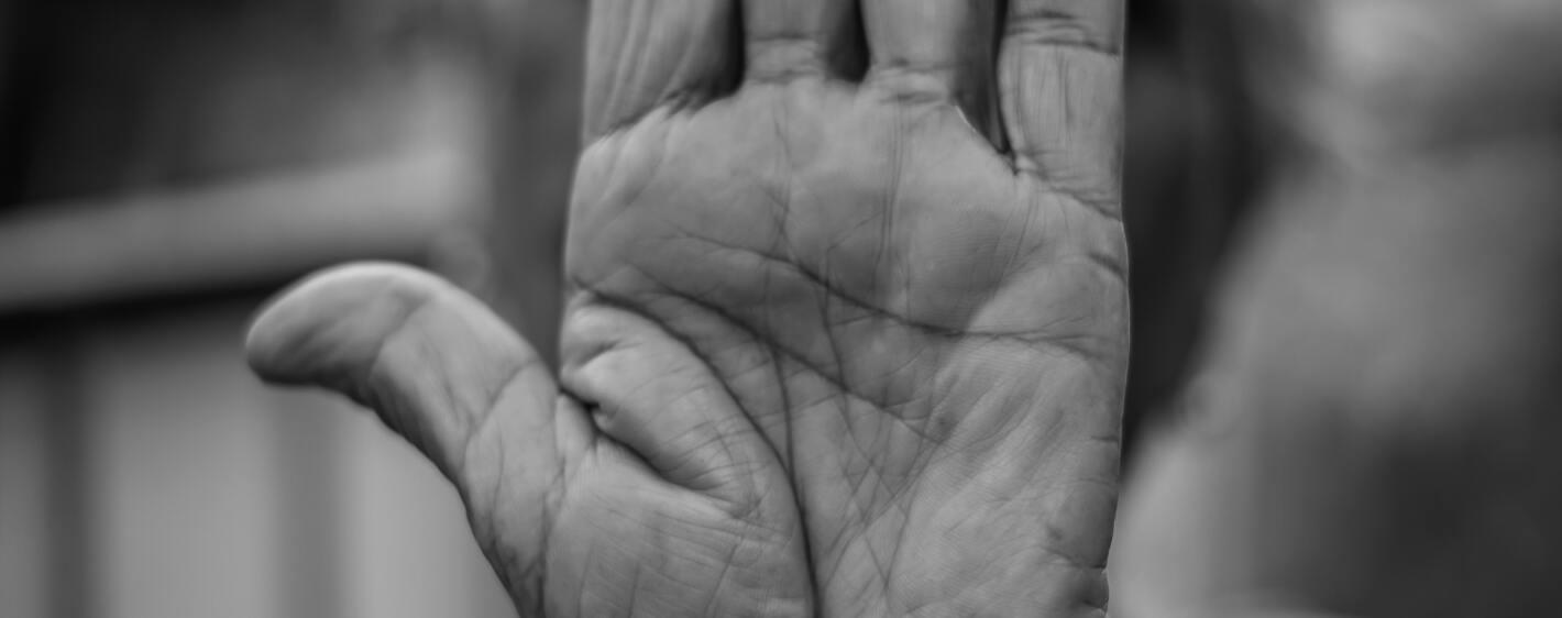 Aging hand