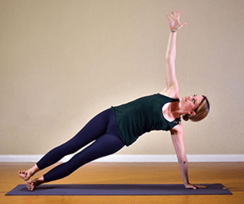 Side Plank Yoga Pose