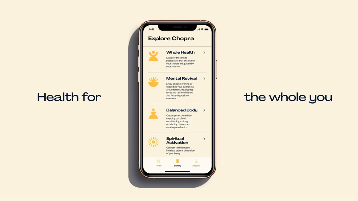 The Chopra App - health for the whole you