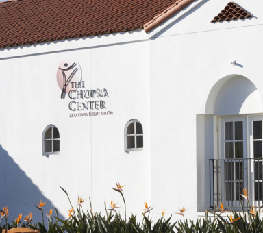 the chopra center opens