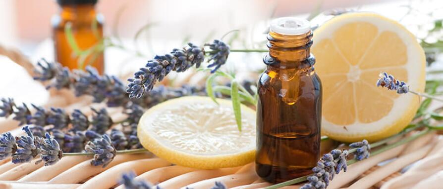 lavender and lemon aromatherapy oil
