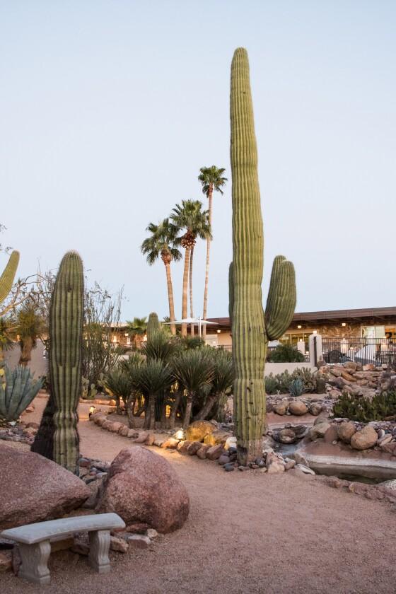 A beautiful resort in Arizona