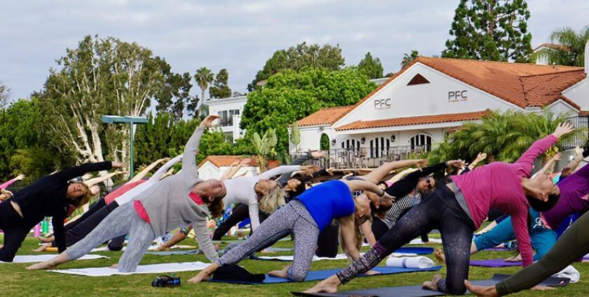 yoga at the chopra center