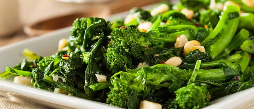 sauteed spinach and garlic