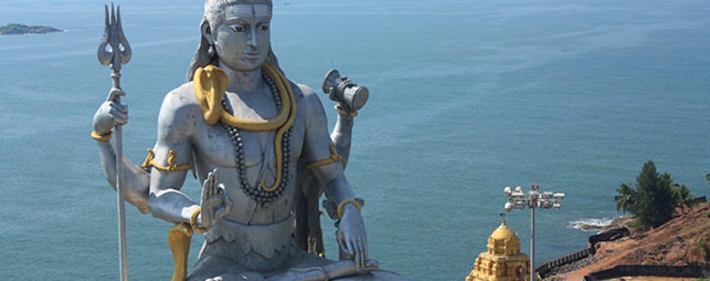 a statue of Shiva