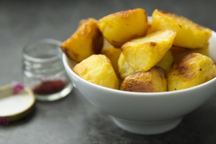 Saffron Roast Potatoes